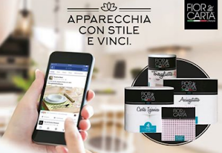 Logo Velocissime: Vinci gratis un Kit Fior di Carta Lifestyle