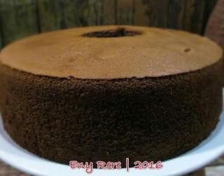 Resep Chiffon Coklat