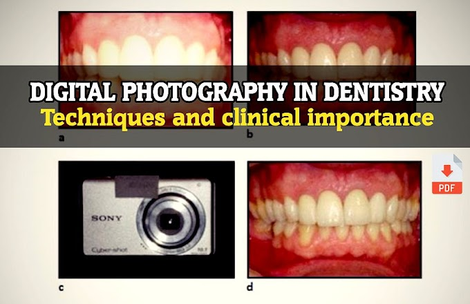 DIGITAL PHOTOGRAPHY in Dentistry: Techniques and clinical importance