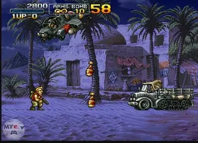 تحميل لعبة حرب الخليج Metal Slug للكمبيوتر والاندرويد