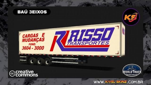 BAÚ 3EIXOS - RISSO TRANSPORTES