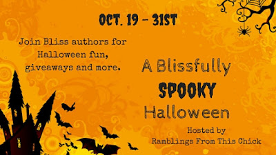 Ramblings From This Chick: A Blissfully Spooky Halloween with Rachel Harris
