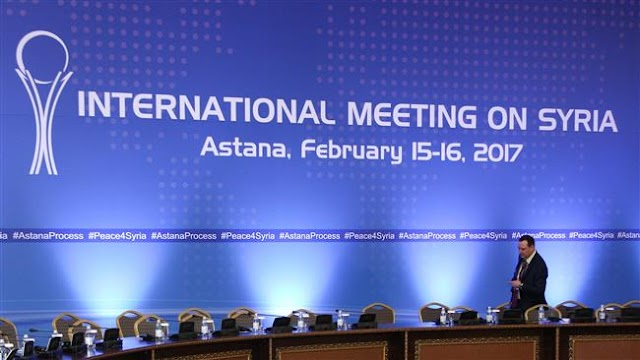 Delegates gather in Astana for Syria ceasefire talks