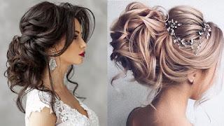 تسريحات شعر عروس