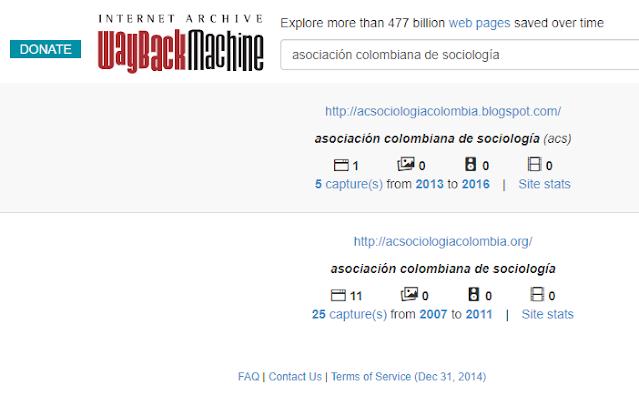 Archivo de internet