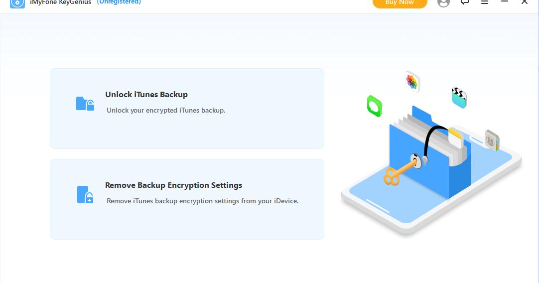iMyFone KeyGenius 2.0.0 - 解鎖iPhone的iTunes備份密碼 移除iPhone備份加密設定 - 阿榮福利味 - 免費軟體下載