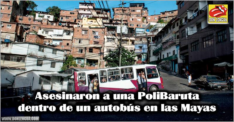 Asesinaron a una PoliBaruta dentro de un autobús en las Mayas