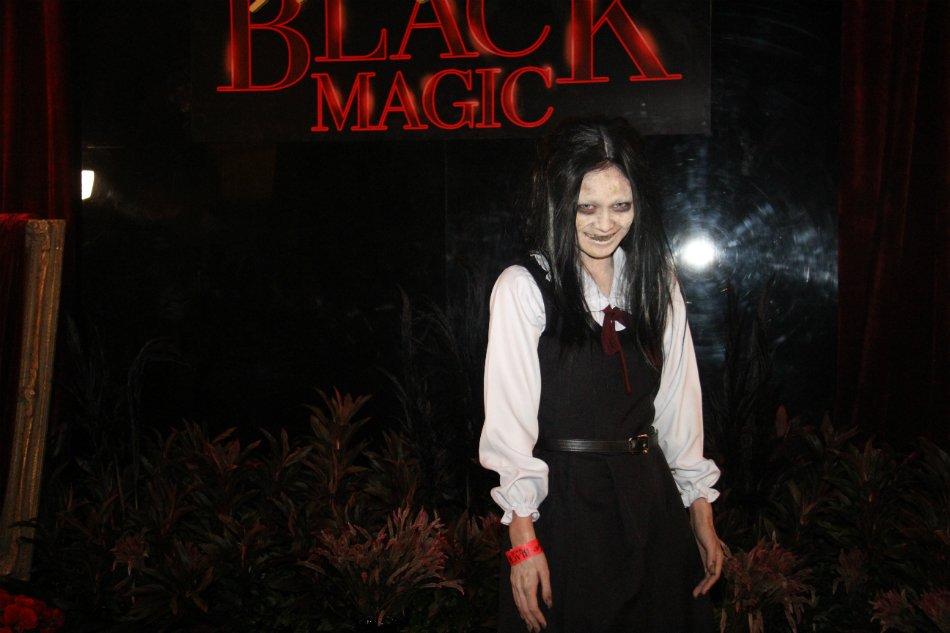 Gillian Vicencio Black Magic Halloween Party 2019