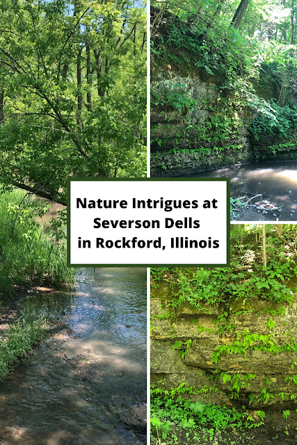 Dolomite Cliffs, Woodlands, Prairies and Wetlands Entice Explorers at Severson Dells in Rockford, Illinois
