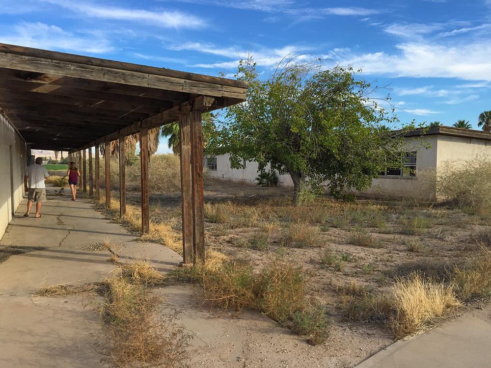 World War II Japanese Internment Camp Poston Arizona ghost town