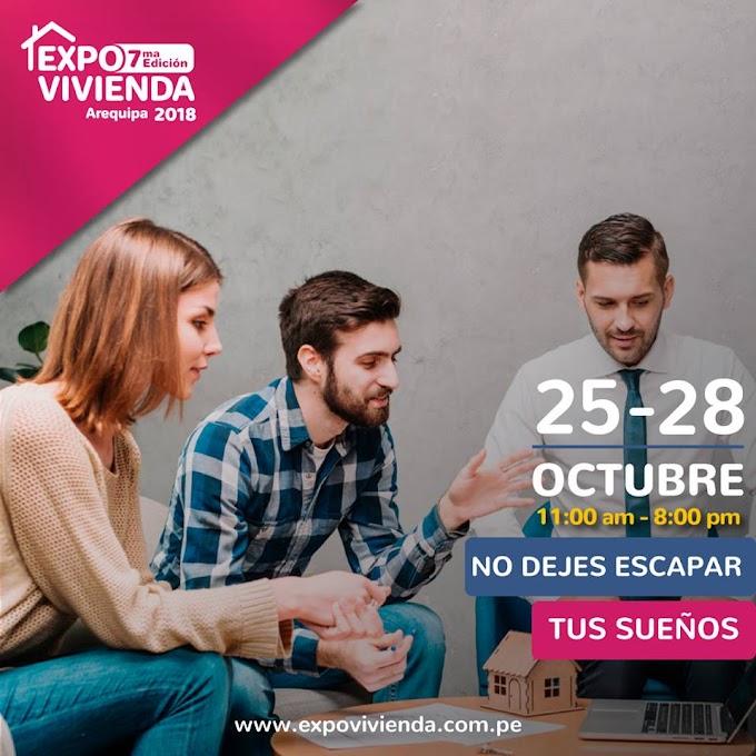 Expo vivienda, Arequipa 2018 - 25 al 28 de octubre
