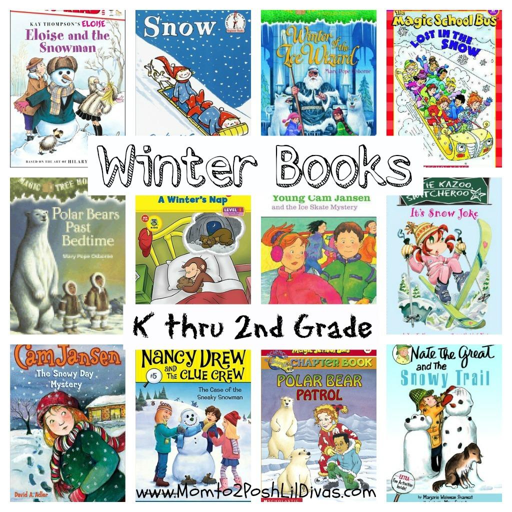 Mom To 2 Posh Lil Divas 12 Winter Books For Children In