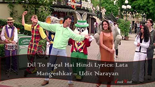 Dil-To-Pagal-Hai-Hindi-Lyrics-Lata-Mangeshkar