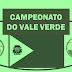 Campeonato do Vale Verde de futebol começa com 36 gols