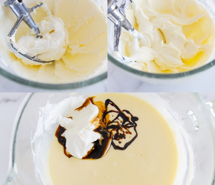 why use room temperature ingredients when making a cheesecake