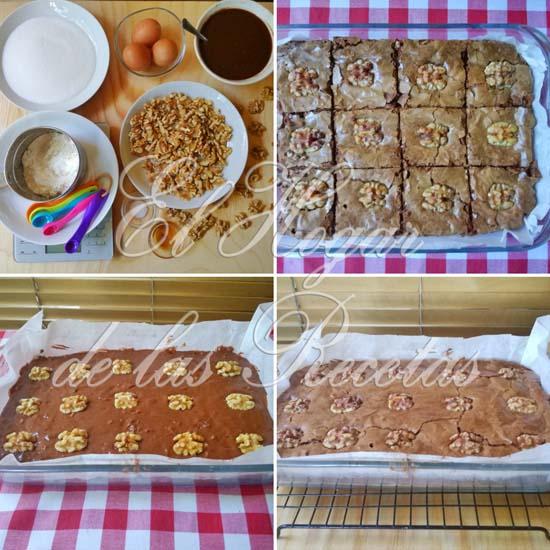 Brownie clásico: momentos de la elaboración