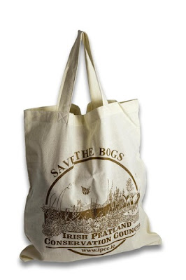 IPCC Save the Bogs Cotton Bag