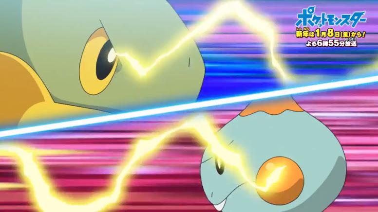 Jornadas Pokémon Chewtle e Turtwig