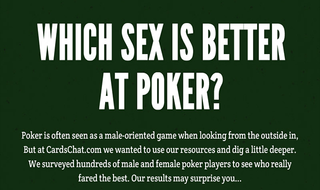 Which Sex is Better At Poker