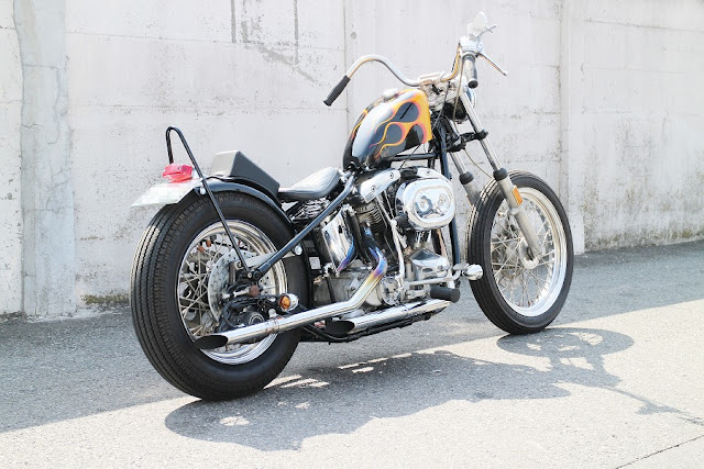 Harley Davidson Shovelhead 1974 By Granny's Garage Hell Kustom