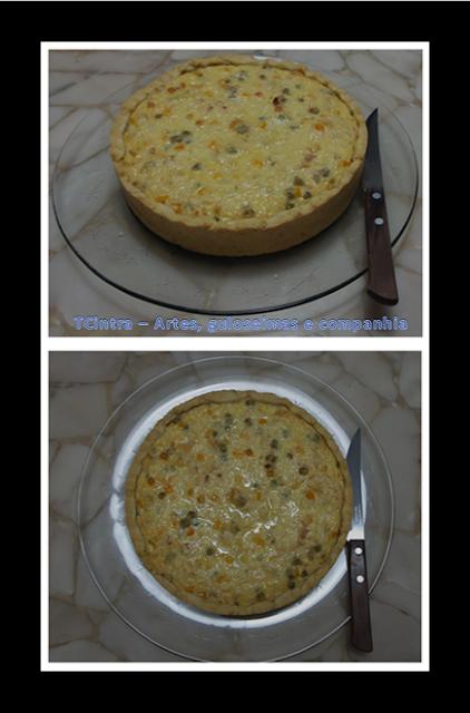 TORTA DE FRANGO CAIPIRA; torta salgada; torta de frango; lanche; quiche de frango; torta de frango