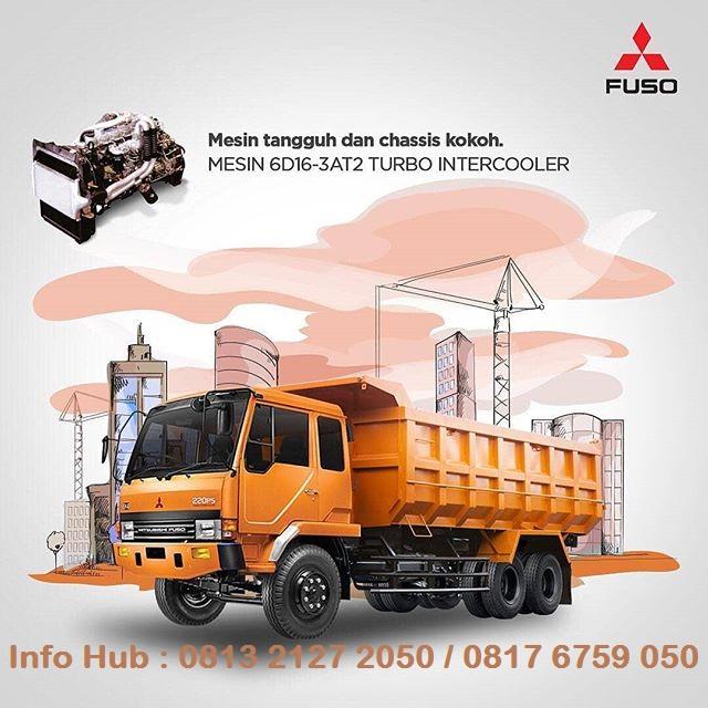 promo paket dp minim dump truk fuso 2019, paket kredit dp kecil dump truk fuso tronton 2019