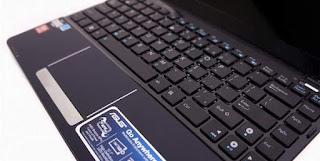 Tahapan Cara membuka dan memasang keyboard Asus eepc 1215B