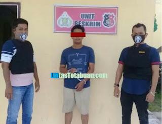 Tekab Polsek Kota Pinang Ringkus Honorer Labusel  Memiliki Sabu- sabu