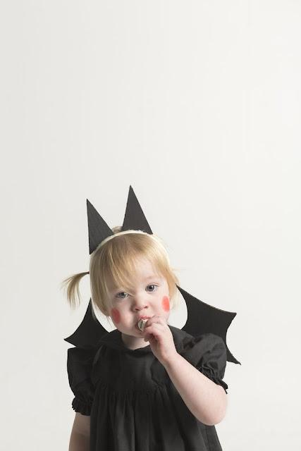 foto Disfraz de murciélago super fácil
