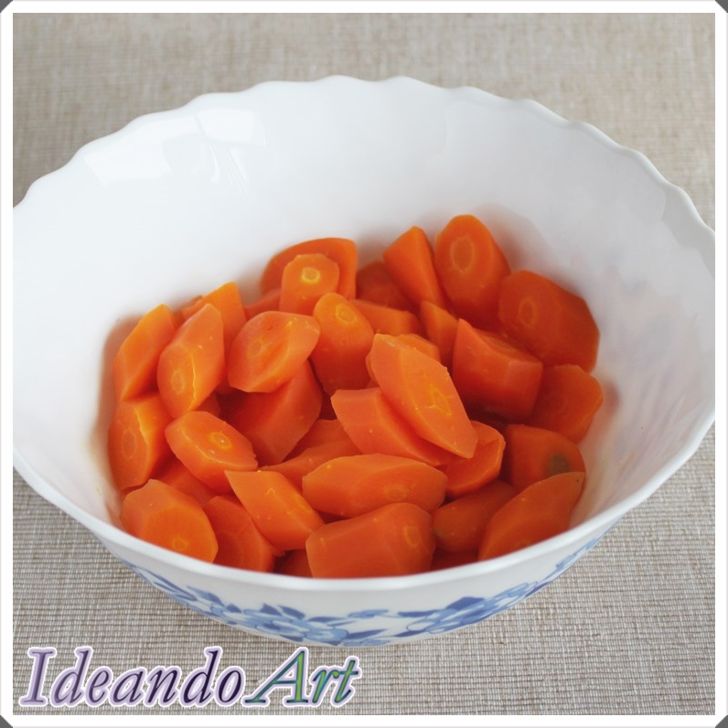 Zanahorias para aliñar