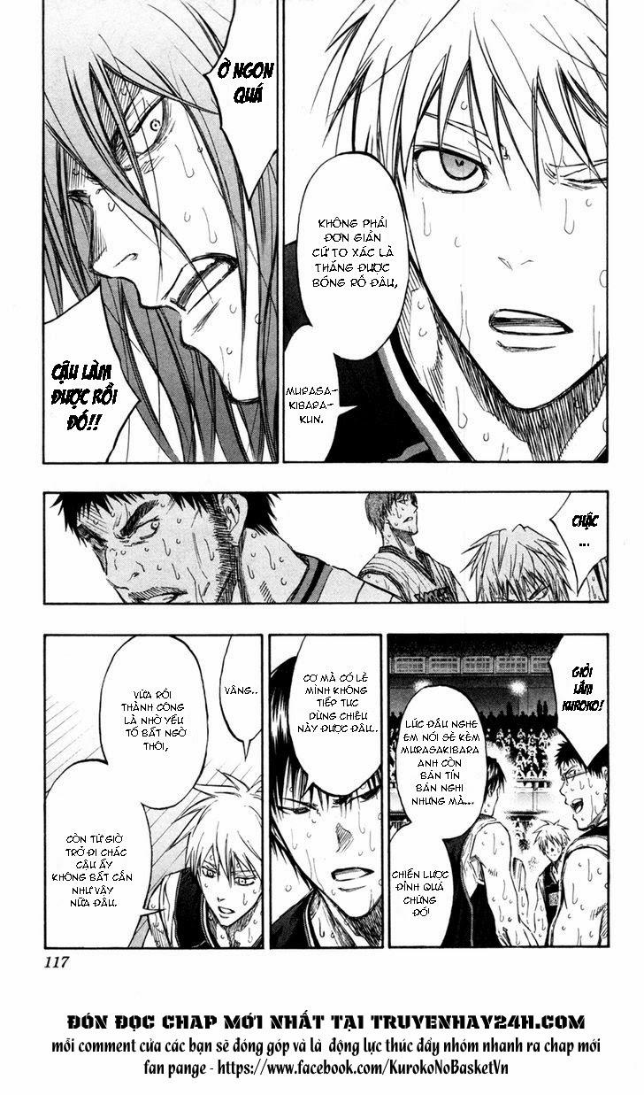 Kuroko No Basket chap 159 trang 9