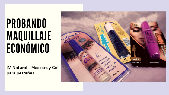 Probando maquillaje económico: IM Natural