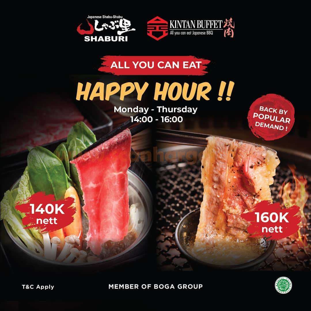 Kintan Buffet Promo All You Can Eat Japanese BBQ only 160K*