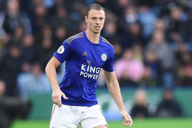 Leicester City defender Jonny Evans