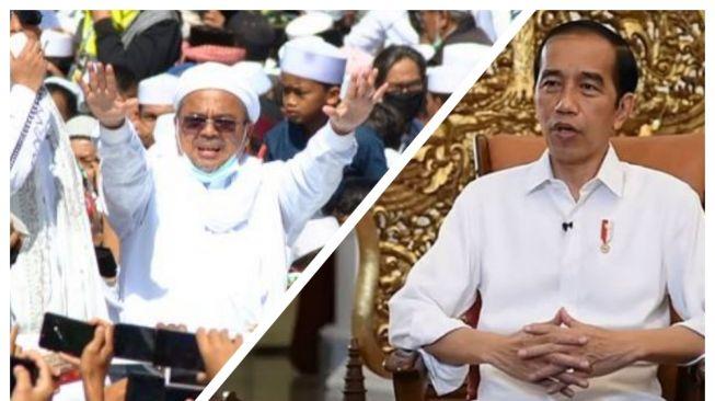 Rocky Gerung Bongkar Trik Jokowi Pakai Aparat untuk Musuhi Habib Rizieq