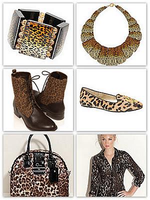 Tendance léopard. Soyez Grrr un peu, beaucoup ou passionnément!