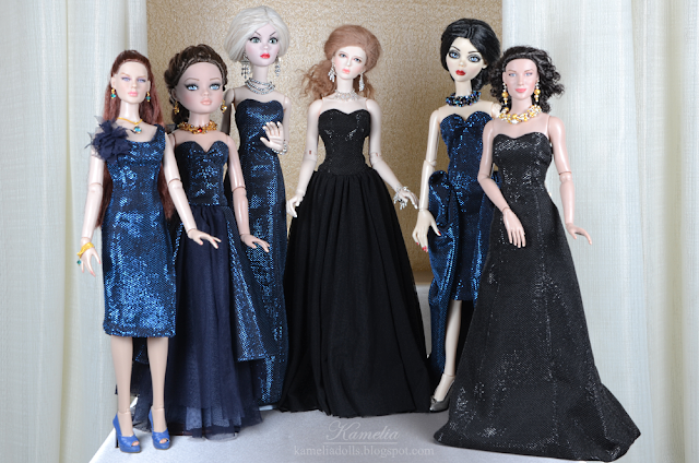 "Handmade dresses for 16"" and 18"" dolls"