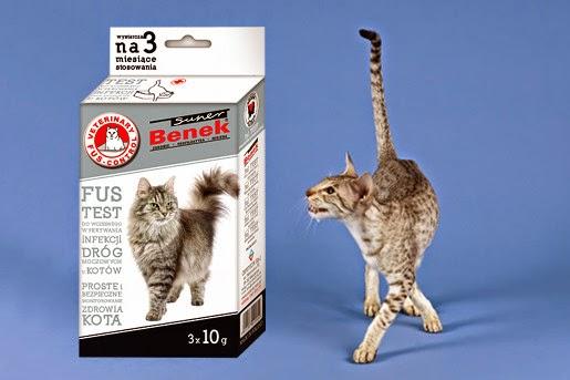 Test weterynaryjny na SUK dla kotów – Super Benek FUS TEST