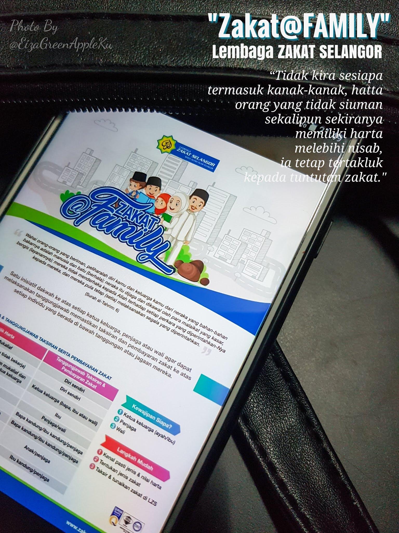 Zakat@Family dari Lembaga Zakat Selangor