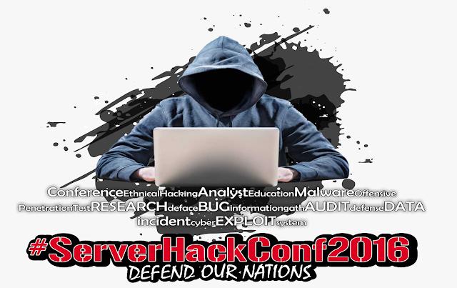 #Server Hack Conference 2016