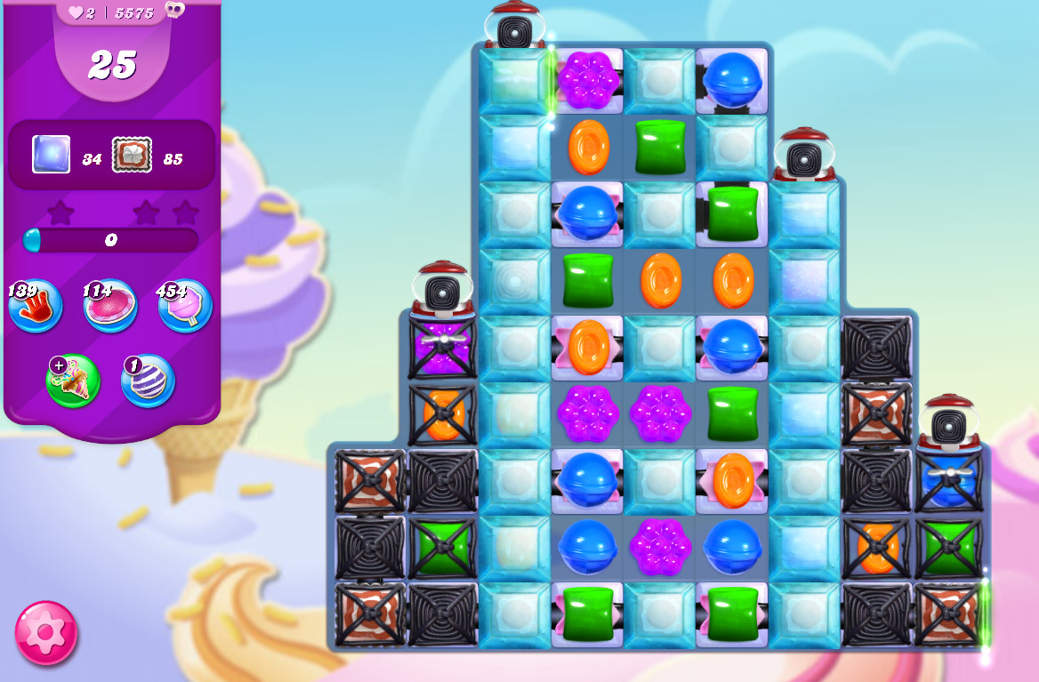 Candy Crush Saga level 5575