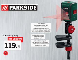 Laser krzyżowy Parkside z Lidla