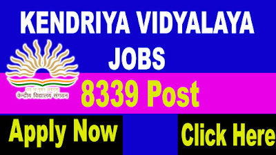 KVS Recruitment 2018, Kendriya Vidyalaya Sangathan Recruitment 2018