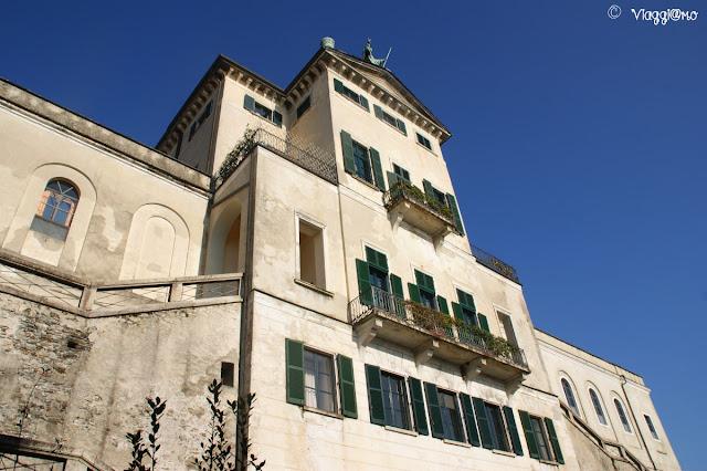 Parte dell'edificio abbazia dell'Isola di San Giulio