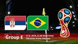 مشاهدة مباراة البرازيل و صربيا في كأس العالم 2018 بتاريخ 27-06-2018 موقع ماتش لايف