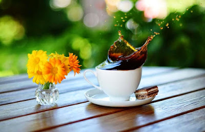 coffee-with-flowers