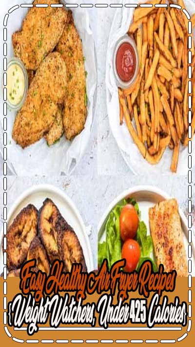Looking for Healthy Air Fryer Recipes that are tasty and quick and easy to make? Each of the air fryer recipes in this collection are under 425 kcal, with most less than 350 kcal! But you'd never know it, since these easy air fryer recipes are SO delicious.