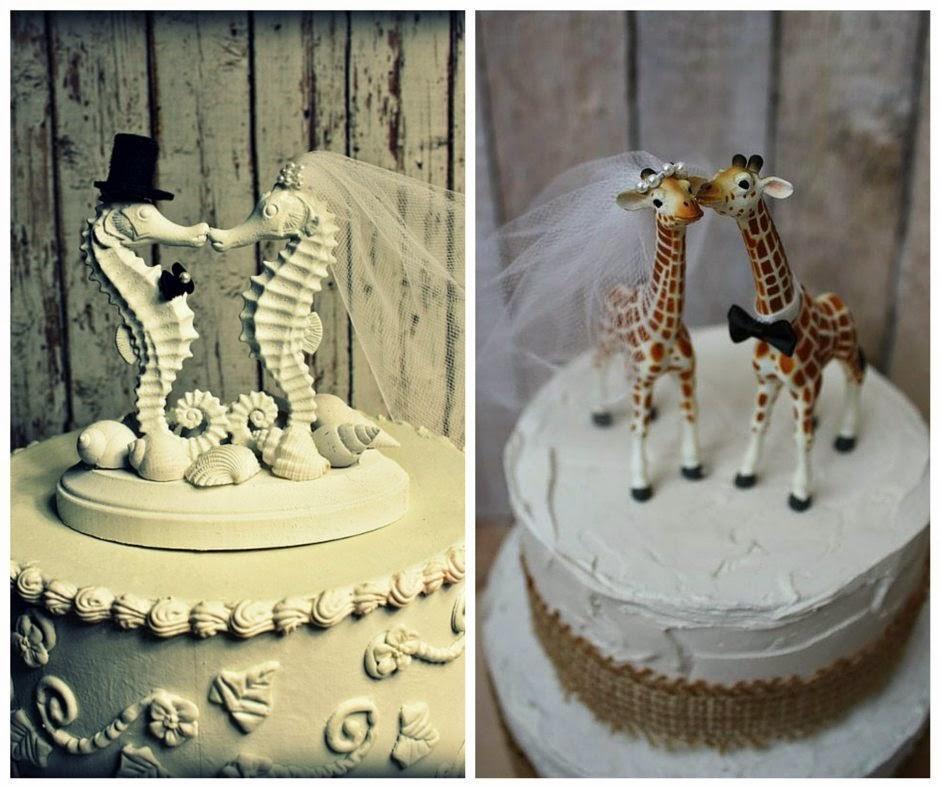 интересни фигурки за торта във формата на животни