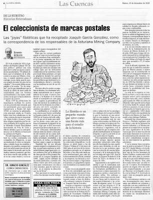 Ernesto Burgos, Joaquín García, marcas postales, prefilatelia, filatelia