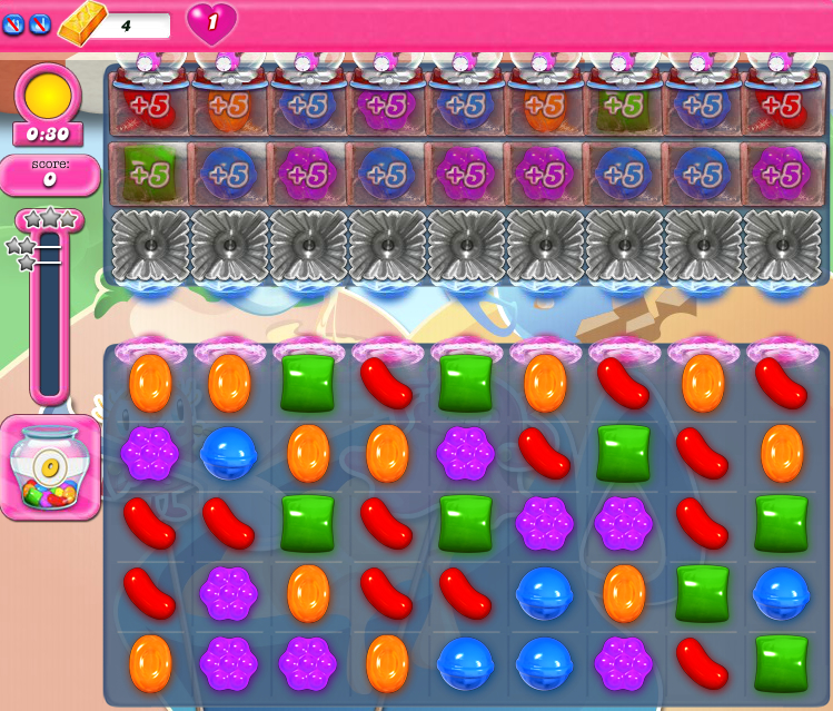 Candy Crush Saga 1602